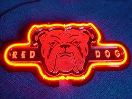 Sd001 red dog miller 3d beer bar neon light sign 11   x 8   free shipping worldwide thumb200