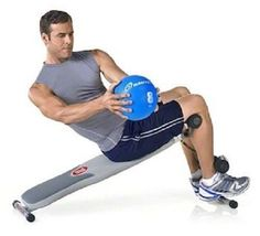 Exercise Workout Decline Adjustable Bench Strength/Sit Up Abs Fitness Machine - $99.99
