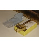 1925 Ladies Curvefit Razor Box Felt Pouch - $12.50