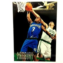 Stephon Marbury Rookie Card 1996-97 Fleer #219 Minnesota Timberwolves - $2.92