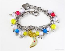 Sailor Uranus Charm Bracelet, Anime Jewelry, Sailor Moon, Mahou Shoujo, ... - $37.00