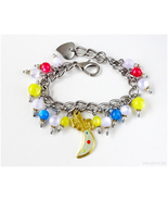 Sailor Uranus Charm Bracelet, Anime Jewelry, Sailor Moon, Mahou Shoujo, ... - $37.00