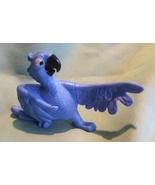 McDonald's Rio Blue Macaw Parrot Bird Musical PVC Toy  - $4.99