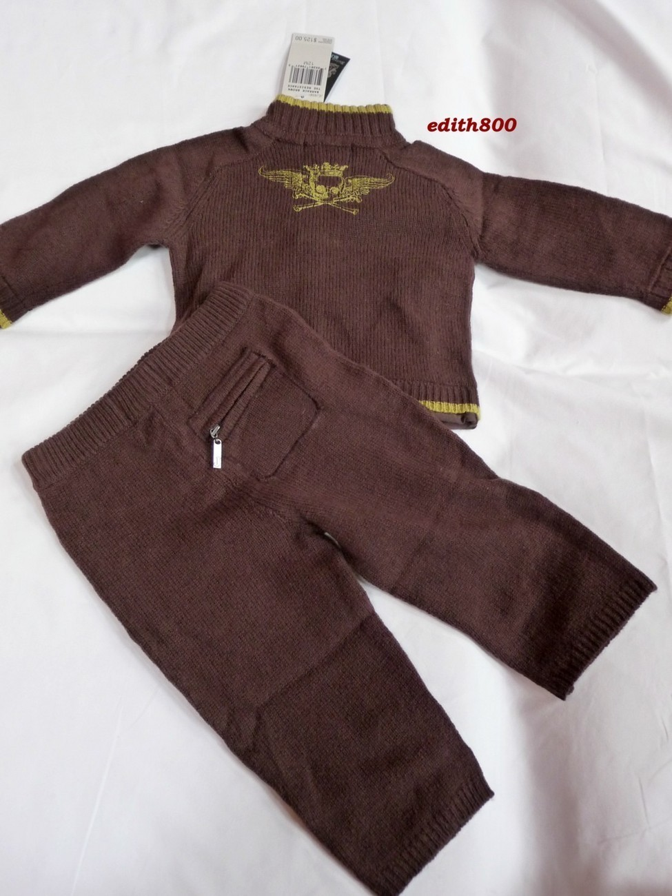 Juicy Couture Baby Boy Track Suit Set 12 Months NWT $125