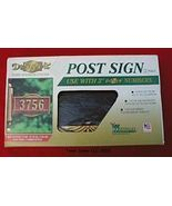Whitehall Design-it Double Sided Post Sign Aluminum - $16.31