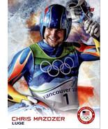 2014 Topps U.S.A. Winter Olympics #60 Chris Mazdzer Luge - $2.22