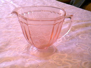 "MAYFAIR ""OPEN ROSE"" PINK CREAMER"