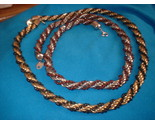 Twistey bead and metal necklace lot thumb155 crop