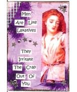 ACEO ATC Art Collage Print Women Men Laxatives ... - $2.75