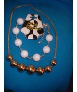 Vintage Jewelry  80s Mod Squad & Korea Necklaces - $16.00
