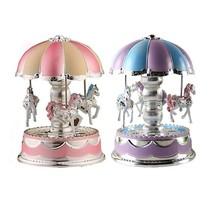 Merry-Go-Round Music Box Carousel - $10.30
