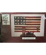 "Pattern: Wall Quilt, I Pledge Allegiance 39""x66"" + Stitchery - $6.50"