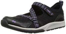 Ryka Women's Kailee Sneaker, Black/Purple ice/Summer Grey, 5 M US - $32.99