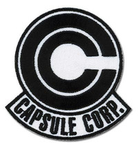 Dragon Ball Z: Capsule Corp Patch GE4297 NEW! - $8.99