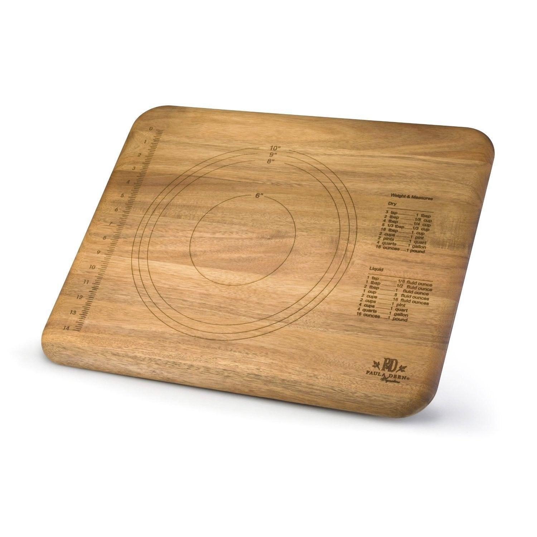 paula deen large giant wooden wood kitchen butcher block