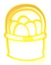 Easter Egg Basket Farm Eggs Bunny Treat Spring Season Cookie Cutter USA ... - $3.99