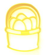 Easter Egg Basket Farm Eggs Bunny Treat Spring Season Cookie Cutter USA ... - $2.99