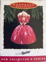 Hallmark 1993 HOLIDAY BARBIE ORNAMENT NRFB - $21.78