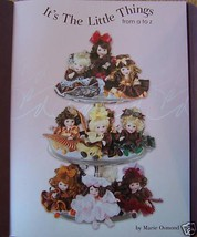 MARIE OSMOND ITS THE LITTLE THINGS FROM A TO Z CATALOG Last One - $10.00