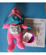 "16"" Berry Lovin'! Color Changing TALKING BABY SMURF  - $64.35"