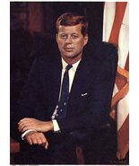 President  John F. Kennedy Color Photo - $4.25