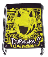 Durarara!! Celty Keep Out Drawstring Bag GE81017 NEW! - $22.99