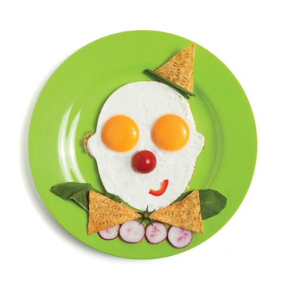 Eggs Shaper Funky Design Kids Face Glasses Designer Boys Girls Chef Breakfast &?