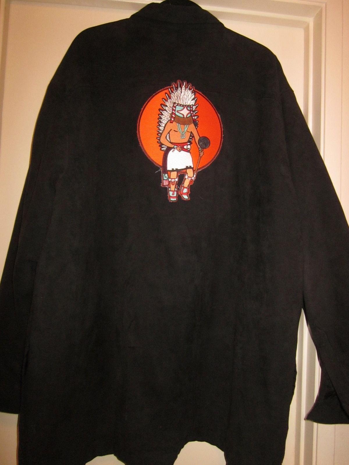 Men's XXL Black High Sierra Jacket w/Indian Patch on Back - $25.00