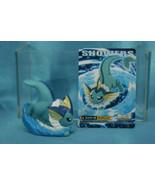 Bandai Pokemon Kids Kimewaza BW5 Finger Puppets Vinyl Figure Vaporeon Sh... - $762,03 MXN