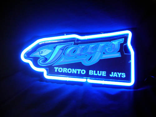 "Toronto Blue Jays Beer Bar 3D Blue Neon Light Sign 13"" x 9"""