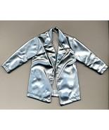 ?Barbie Doll vintage silver metallic jacket - $0.00