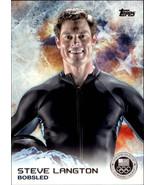 2014 Topps U.S. Winter Olympics Silver #55 Steve Langton -BOBSLED- - $2.29