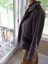DOLLHOUSE Women's Tweed Style Button Front Blazer Jacket Size Large - $8.41
