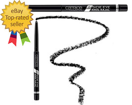 Catrice Inside Eye Khôl Kajal deep-black texture best expressive look In... - $7.88