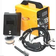 MIG 100 110V 90AMP Flux Wire WELDING MACHINE NO GAS WELDER w/Auto Feedin... - $128.69