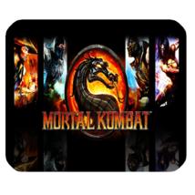 Mouse Pad Mortal Kombat Battle Fight War Video Game Popular Dragon Logo - ₹427.39 INR