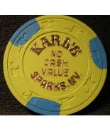 "1980's NCV Casino Chips From: "" Karl's Silver Club"" - (sku#2152) - $5.29"