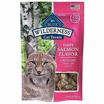 Blue Buffalo Wilderness Salmon Crunchy Cat Treats - $14.99