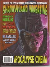 Shadowland Magazine #7 Ferrigno Hulk Evil Dead Mil Mascaras Bates Motel ... - $8.95