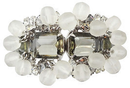Verified DeLizza & Elster D&E Juliana Runway Couture Bracelet 1960s - $200.00