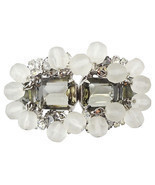 Verified DeLizza & Elster D&E Juliana Runway Couture Bracelet 1960s - £147.40 GBP