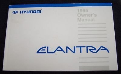 1995 hyundai elantra owners manual new and 50 similar items rh bonanza com 2002 1.6L Hyundai Accent Easy Mods 2017 Hyundai Elantra