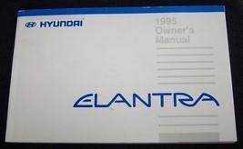 1995 hyundai elantra owners manual new original - $10.99