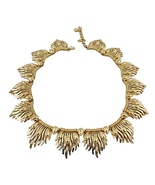 Monet Flamina BOOK PIECE Runway Couture Necklac... - $200.00