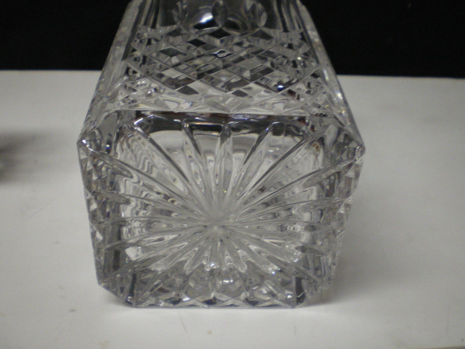 how to clean the inside of a crystal decanter