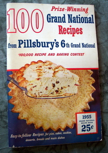 1955 Pillsbury 6th Grand National Recipe Book