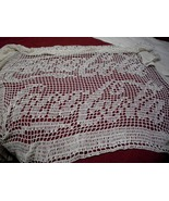 Crocheted Coca-Cola Curtain Panel - $150.00