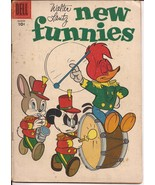 Dell Walter Lantz New Funnies #241 Woody Woodpecker Chilly Willy Andy Panda - $4.95