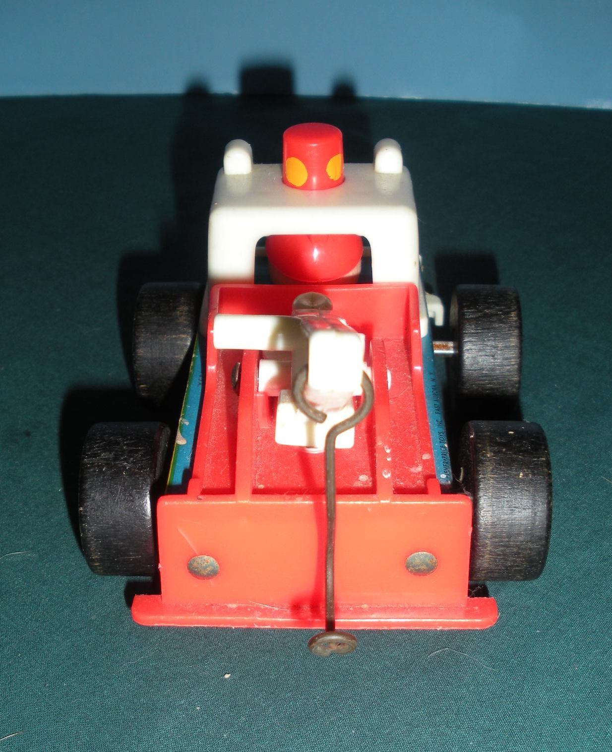 Vintage Fisher Price Little People #718 Tow Truck and Car Comp/EXC+++-NR MT! (A) image 4