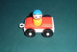 Vintage Fisher Price Little People #718 Tow Truck and Car Comp/EXC+++-NR MT! (A) image 6